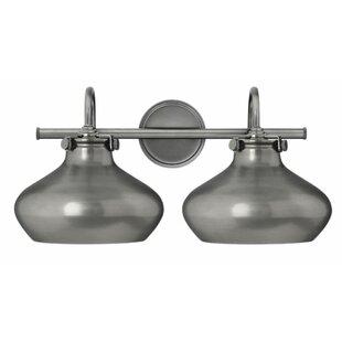Mercury Row Bunnell 2-Light Vanity Light