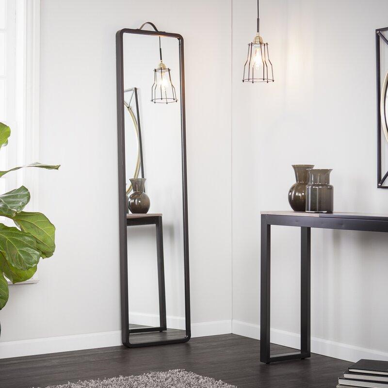 Modern Floor Leaning Full Length Mirror & Reviews | Joss & Main
