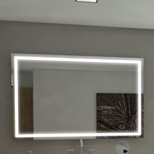 Thirlby Illuminated BathroomVanity Wall Mirror by Orren Ellis