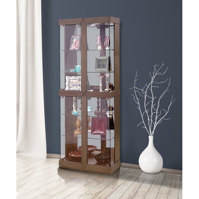 Rohe I Lighted Curio Cabinet