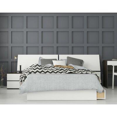 Ebern Designs Laymon Platform 3 Piece Bedroom Set