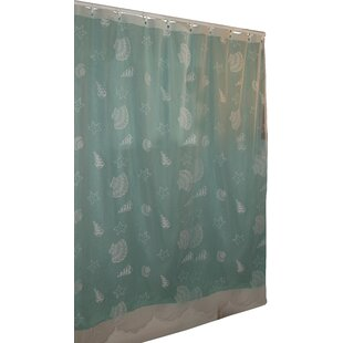 Big Save Tradewinds Lace Shower Curtain By Beachcrest Home
