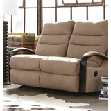 Jansen Reclining 53.75'' Round Arm Loveseat by Catnapper