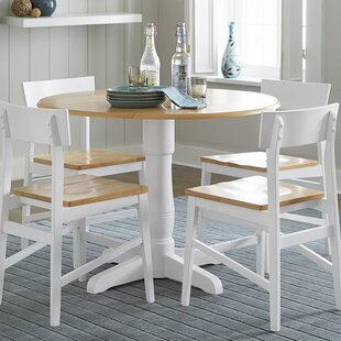 Finley Round Drop Leaf Dining Table Beachcrest Home