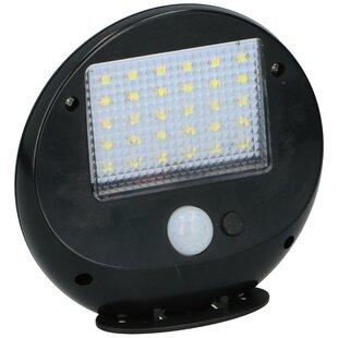 Minarik Solar Wall Lamp - With Sensor - 2 Pieces - 30 Leds - 12X11x4cm By Sol 72 Outdoor