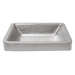 Read Reviews Metal Rectangular Vessel Bathroom Sink By Premier Copper Products