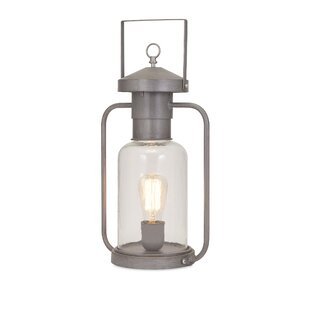 Benzara Striking Newport Glass Lantern