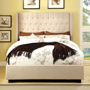 Mckenna Upholstered Panel Bed by Alcott Hill