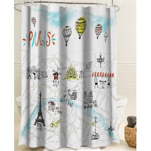 Red Hook Parisian Summer Single Shower Curtain by Winston Porter Purchase