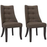 Neasa Upholstered Dining Chair (Set of 2) by Brayden Studio®