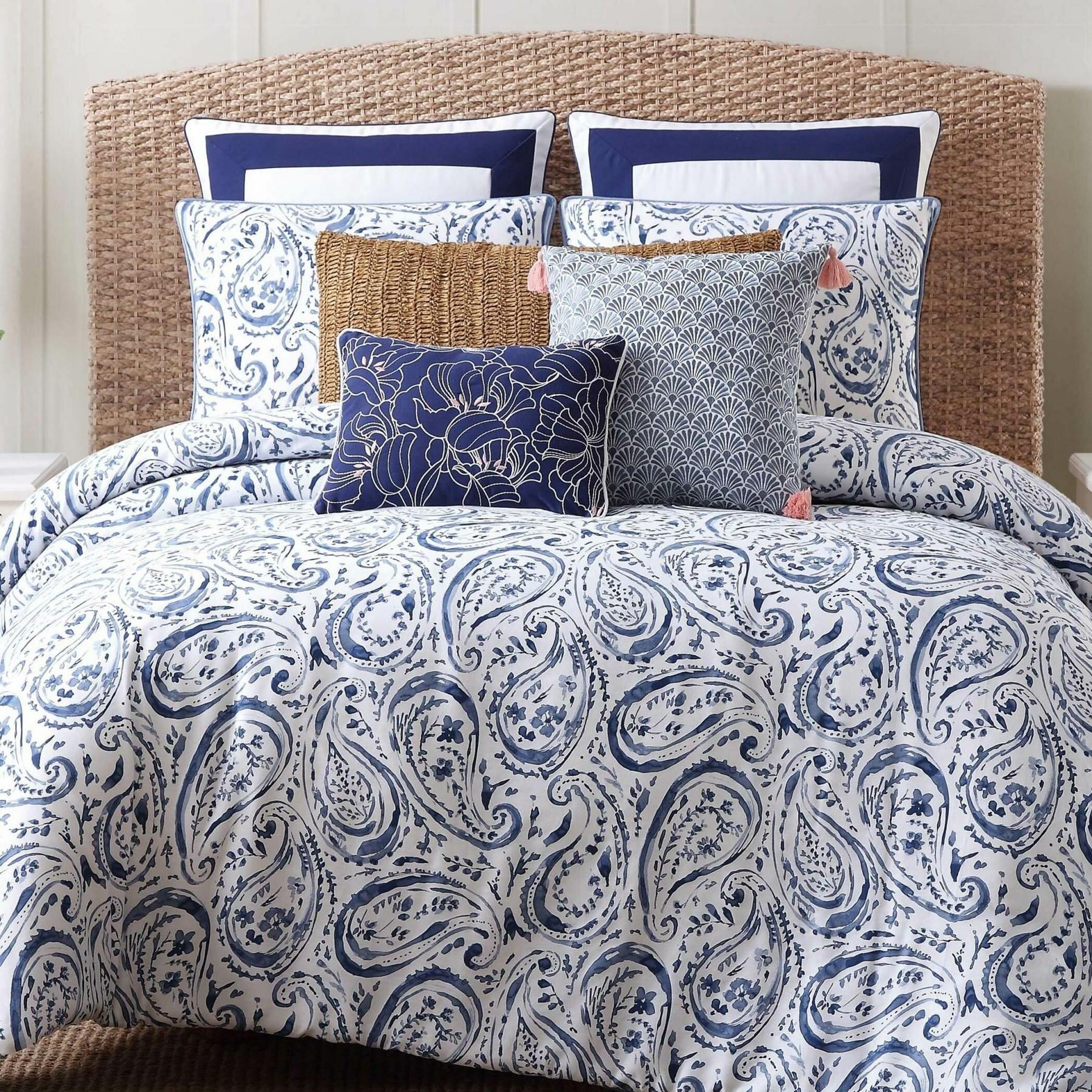 Gray Paisley Bedding Home Ideas
