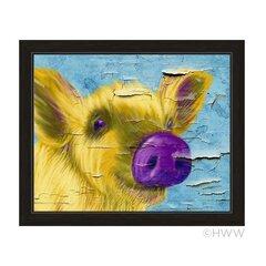 14 Wide Pig Framed Art You Ll Love In 2021 Wayfair