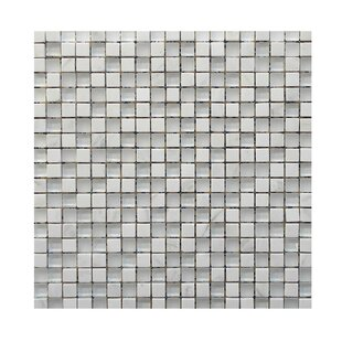 Review Glass Mosaic Tile in White by QDI Surfaces
