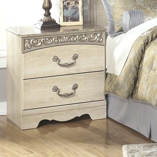 Bargain Johnby 2 Drawer Nightstand By Astoria Grand