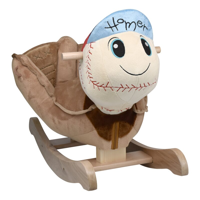 Amazing Homer Baseball Rocker