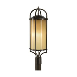 Bridlington 3-Light Outdoor Post Light by Darby Home Co