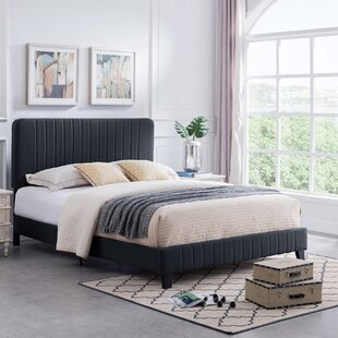 Parque Queen Upholstered Panel Bed