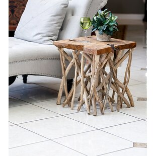 Habibi Branch End Table by Garden Age