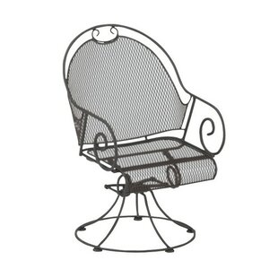 Cantebury Swivel Patio Dining Chair with Cushion