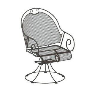 Cantebury Swivel Patio Dining Chair by Woodard