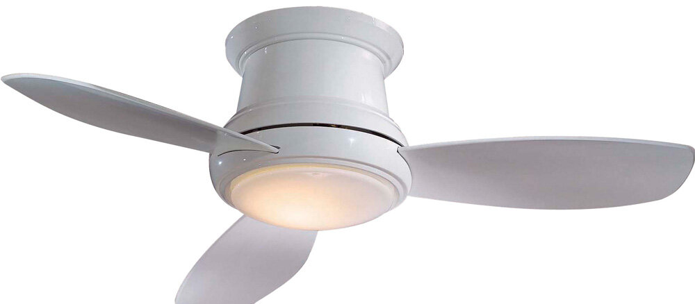 Minka aire 52 concept ii 3 blade led ceiling fan with remote minka aire 52 concept ii 3 blade led ceiling fan with remote reviews wayfair aloadofball Images