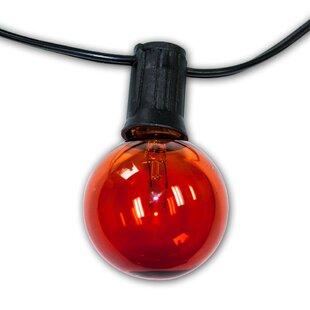 String Light Company City Metro 24-Light Globe String Lights