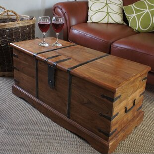 Wooden Chest Coffee Table Wayfair Co Uk