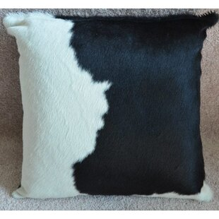 Cowhide Throw Pillow Cover