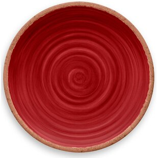 Rustic Swirl Melamine Dinner Plate (Set Of 6)