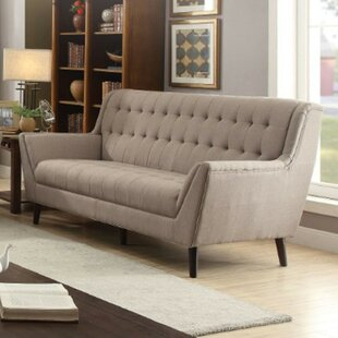 Shop Faris Upholstered Sofa by George Oliver