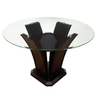 DaCosta Contemporary Wooden Dining Table by Orren Ellis