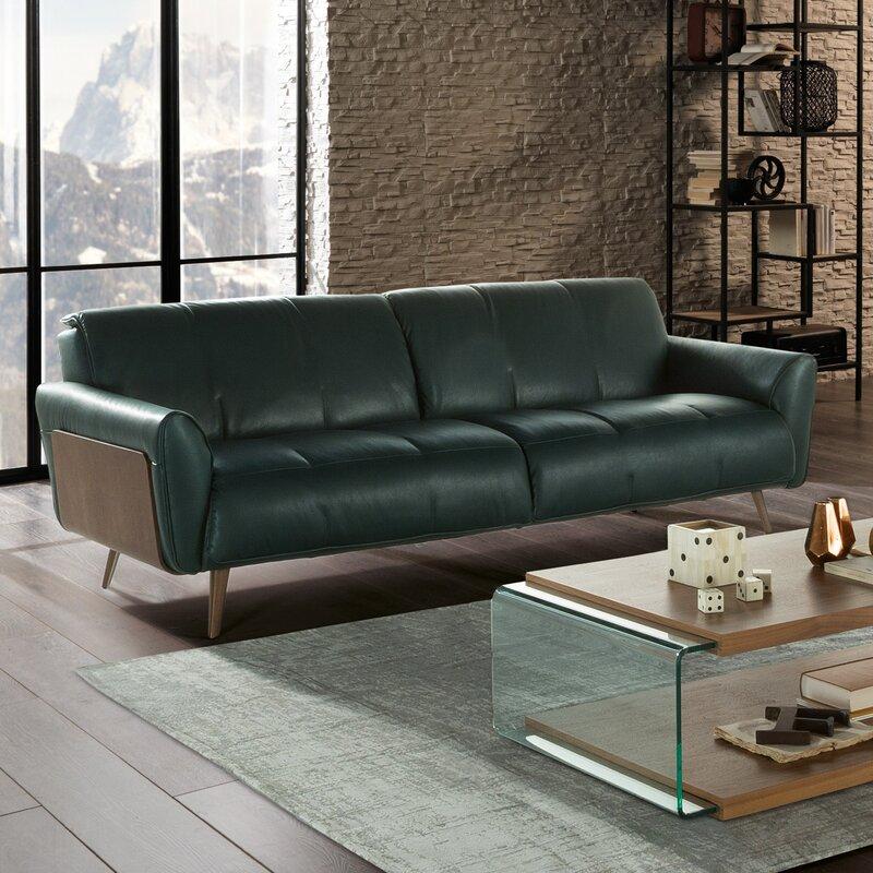 Merveilleux Tobia Leather Sofa