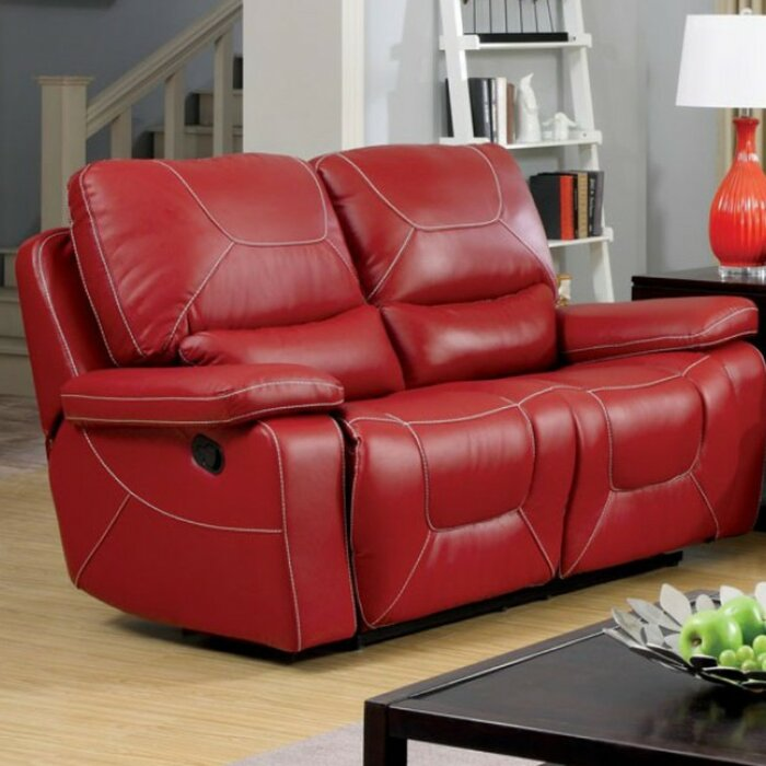 Pleasing Gentner Contemporary Recliner Loveseat Pabps2019 Chair Design Images Pabps2019Com