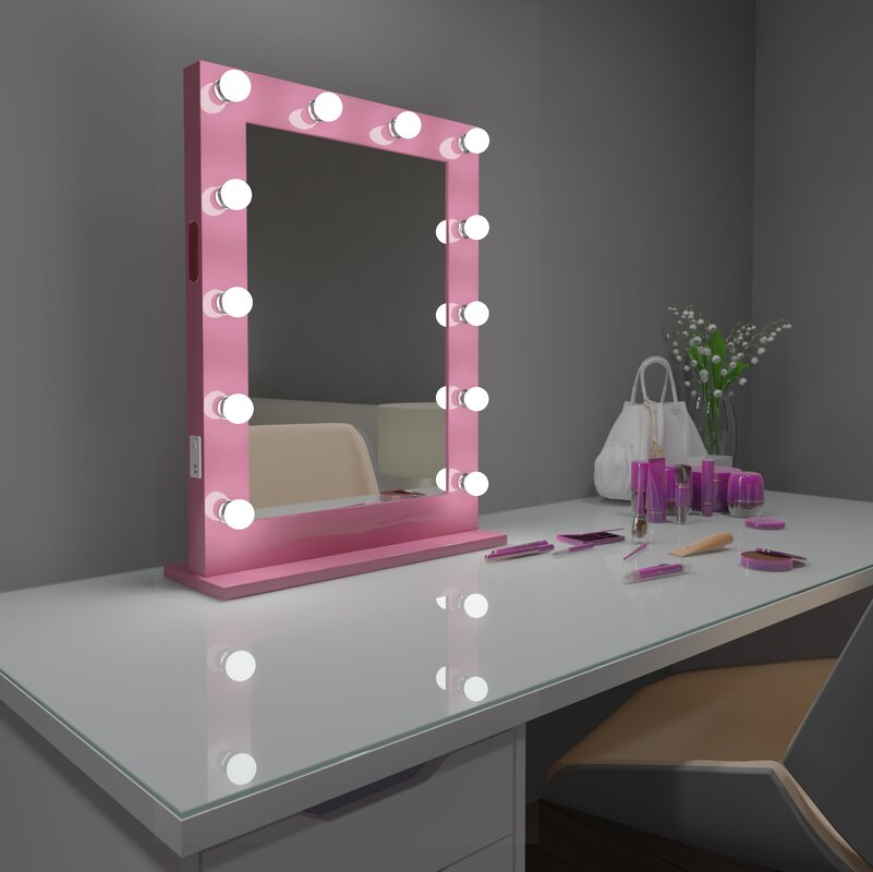 Paris Mirror Hollywood Vanity Makeup/Shaving Mirror