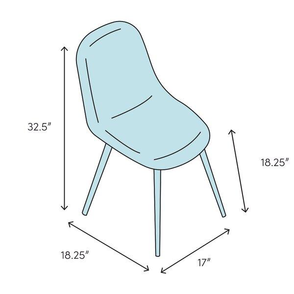 Leisuremod Almeda Dining Chair Reviews Wayfair