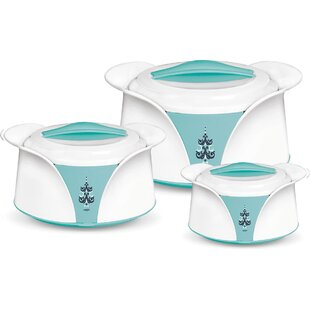 Imperial Casserole Round 3 Container Food Storage Set