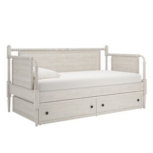 Birch Lane™ Daybed with Trundle and Toybox Divider