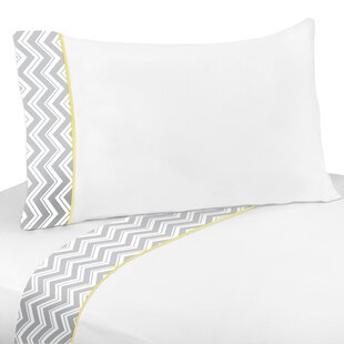 Zig Zag 4 Piece 100% Cotton Sheet Set
