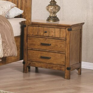 Millwood Pines Dowell 3 Drawers Nightstand