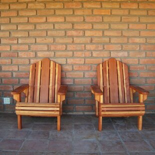 Rosecliff Heights Mora Solid Wood Adirondack Chair