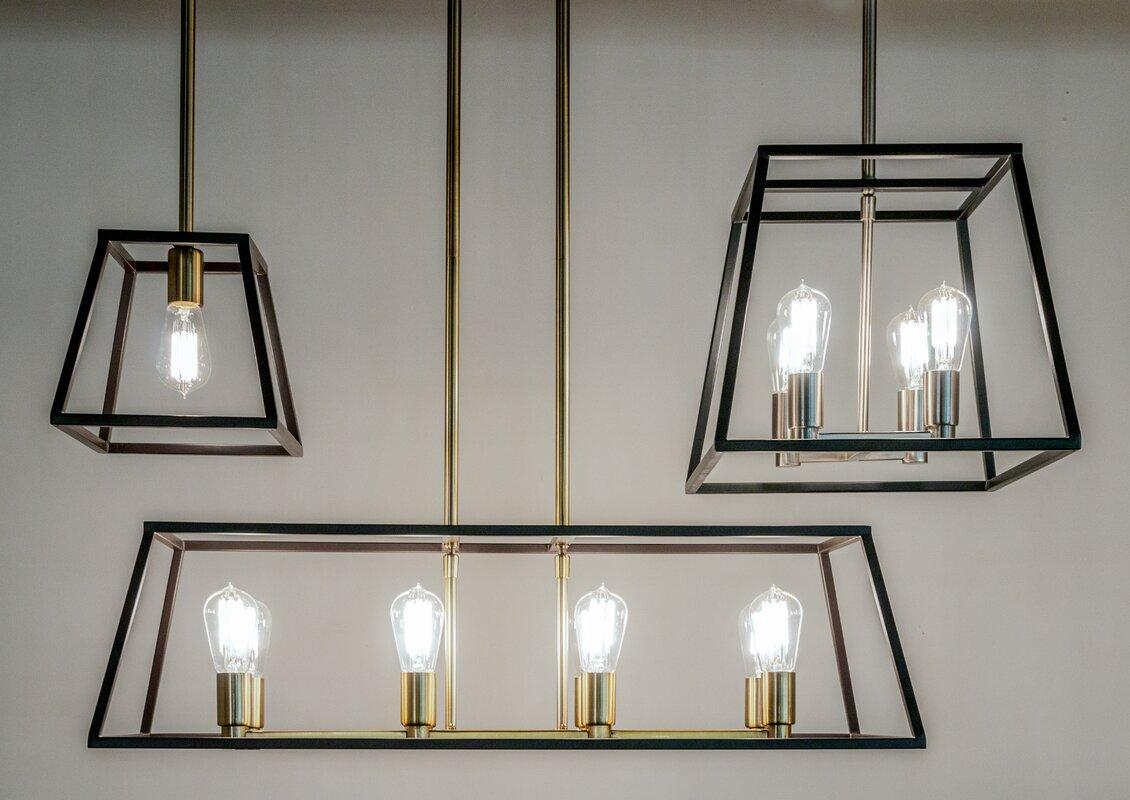 Sheredan 4 light foyer pendant reviews allmodern sheredan 4 light foyer pendant aloadofball Image collections