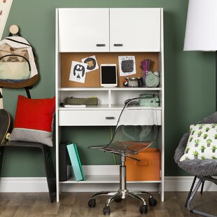 Reevo Armoire Desk With Hutch by South Shore Best