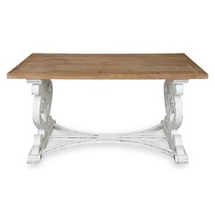 Rectangle Trestle Coffee Tables You Ll Love In 2021 Wayfair