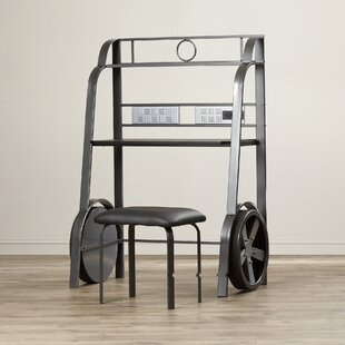 Affordable Beatriz Youth Desk and Stool Set ByZoomie Kids