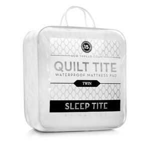Quilt Tite Hypoallergenic Waterproof Mattress Protector by Malouf