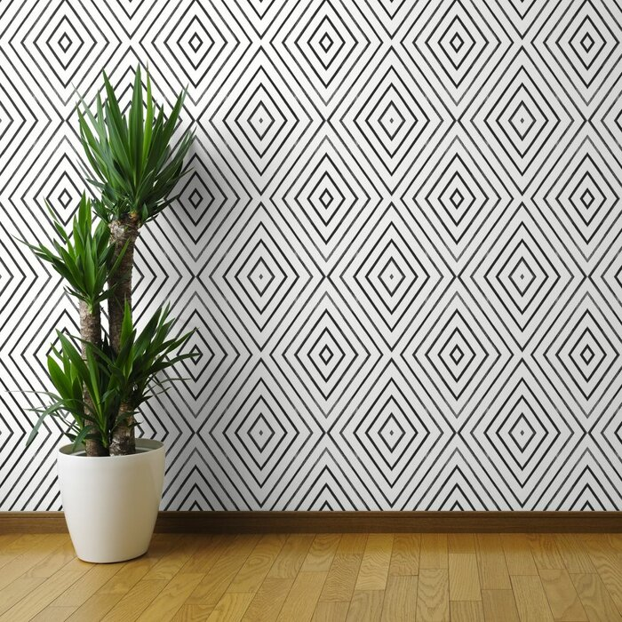 Angelo Geometric Removable Wallpaper Roll