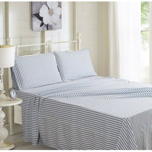 Harned Striped Sheet Set