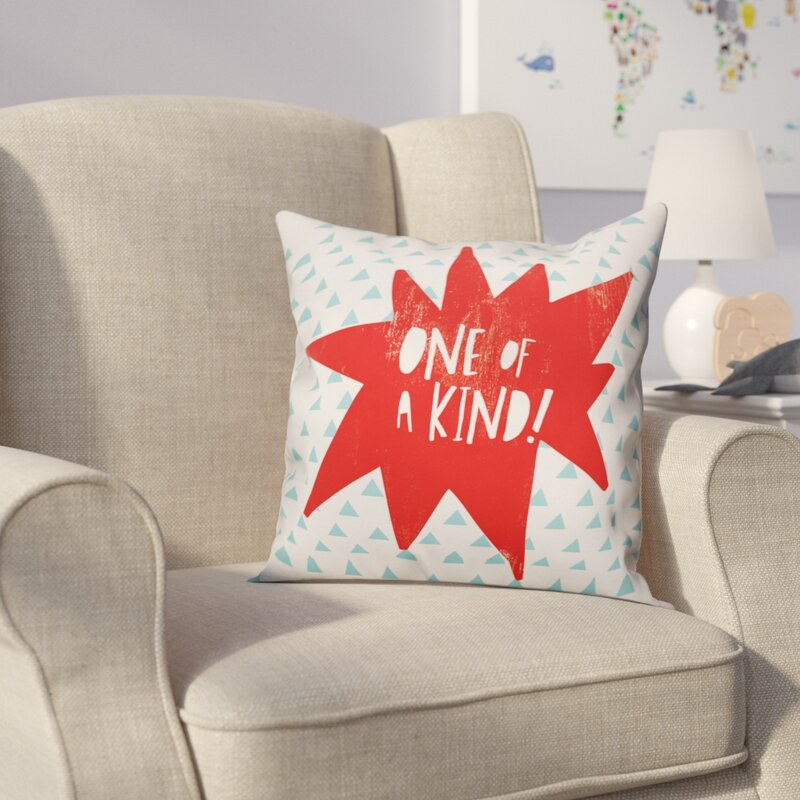 Rae Kory One Of A Kind Throw Pillow