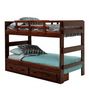 Twin Over Twin Bunk Bed With Storage by Chelsea Home #1