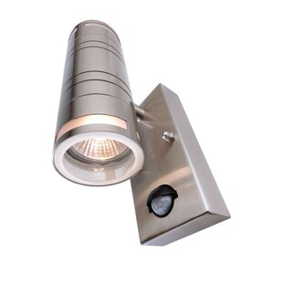 Zilly Outdoor Sconce With Motion Sensor By Deko Light
